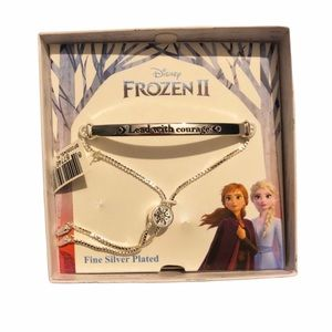 "New! Disney Frozen 2 ""Lead With Courage"" Bracelet"